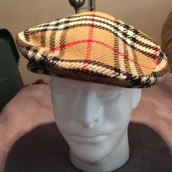 """59f028f2f59 Burberry Other - VINTAGE MEN S """"BURBERRY S OF LONDON"""" NEWSBOY CAP"""